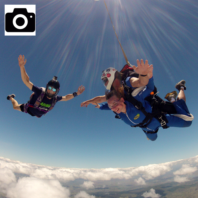 Digital Photos of Tandem Jump (USB) - outside flyer