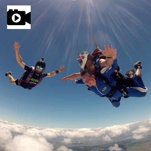Digital Video of Tandem Jump (USB) - outside flyer