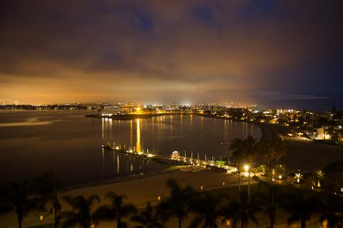 Nighttime Bay Cruise