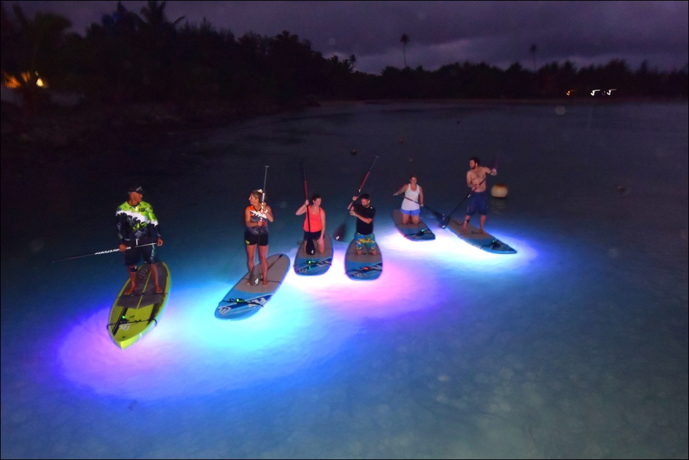 Night Paddle Lagoon Tours
