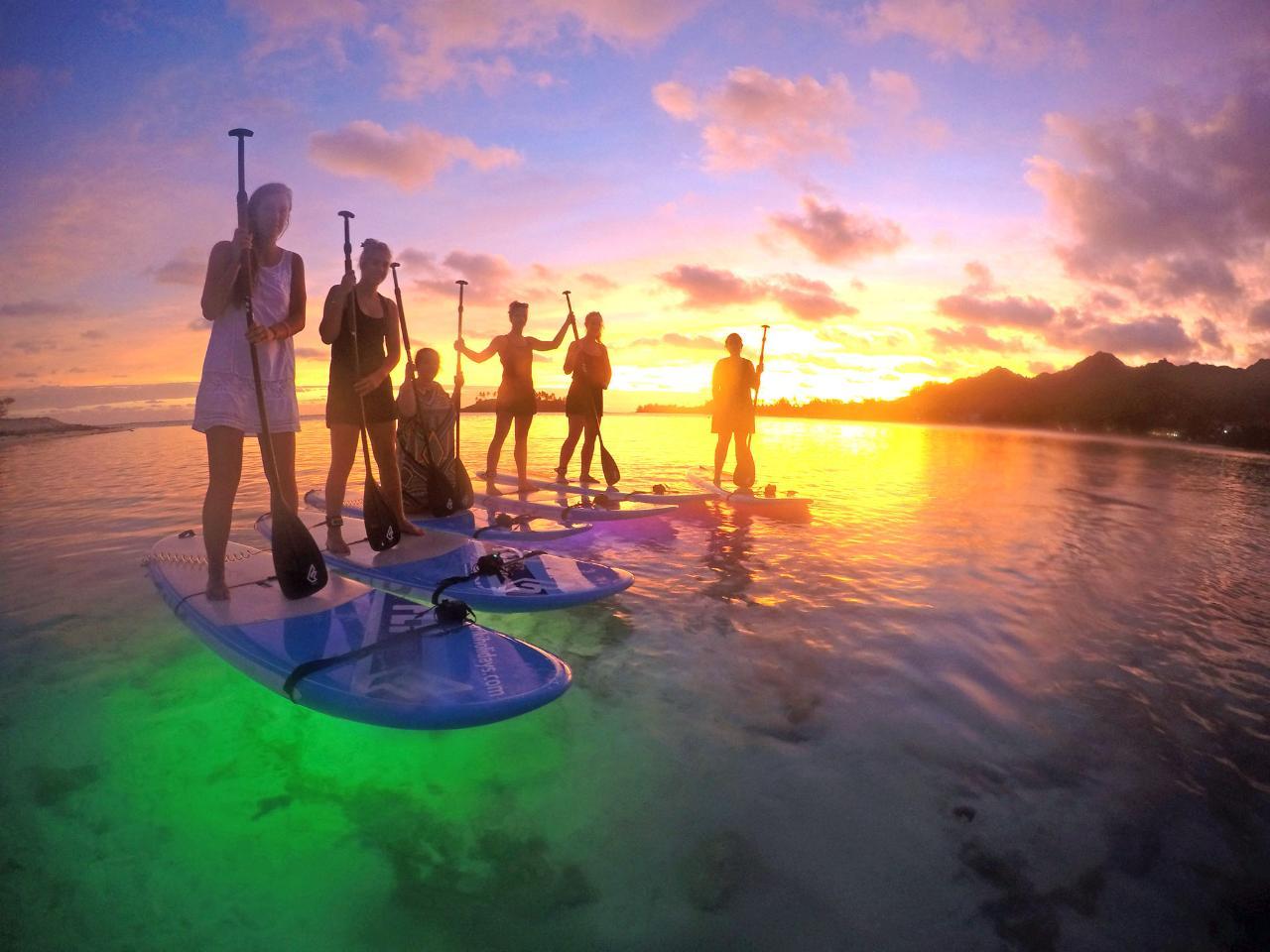 Night Paddle Lagoon Tours