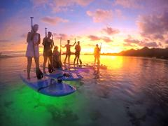 Night Paddle Lagoon Tours SUP