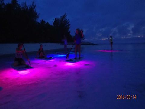 night paddle lagoon tours sup ariki adventures reservations. Black Bedroom Furniture Sets. Home Design Ideas
