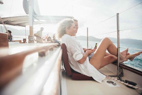 Lady Enid Sailing - Whitehaven Beach