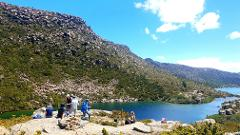 Mt. Field National Park: Tarn Shelf + Russell Falls
