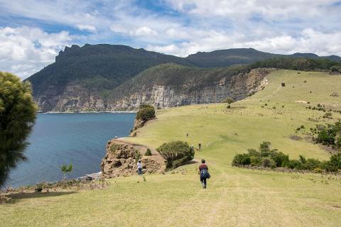 Maria Island Grand Picnic Tasmania Australia