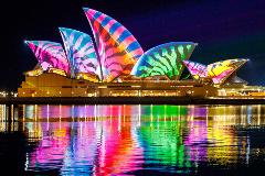 Sydney Harbour Vivid Sydney Cruise