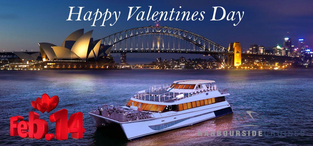 Sydney Harbour Valentines Day Cruise