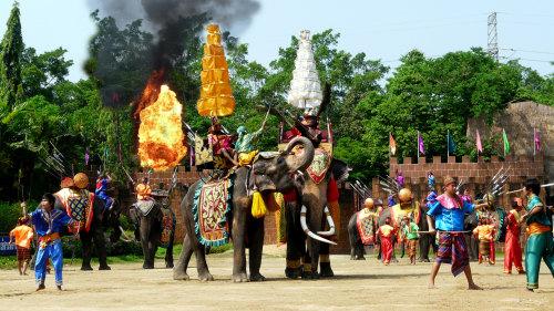 Samphran Elephant Show