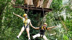 Flying Hanuman Ziplining Experience -  Course A (8am)