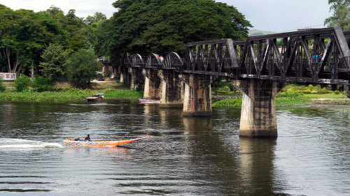 Bridge on the River Kwai with Speedboat, Train Ride & Lunch (No Hotel Pickup)