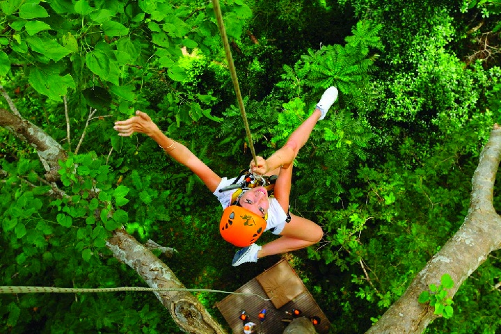 Flying Hanuman Ziplining Experience -  Course B (3pm)