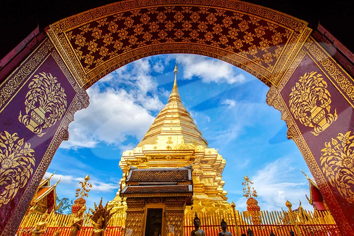 Excursion to Chiang Mai's Ancient Temples - 13.30pm