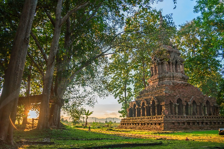 Golden Triangle, Ancient City & Temple Tour with Cruise - 08.30am