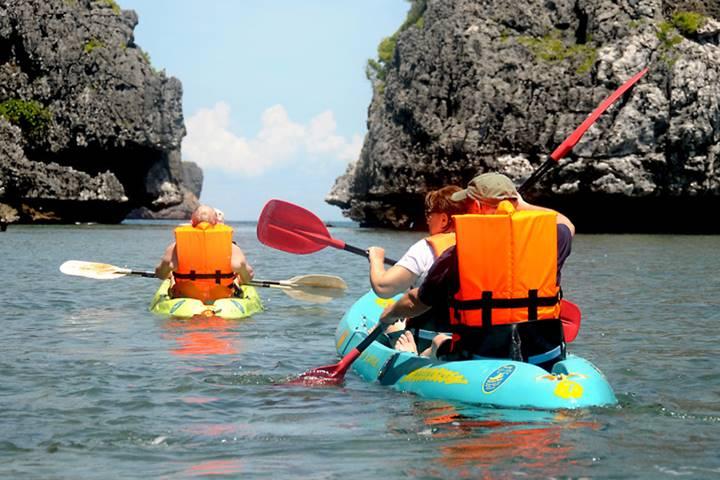 Sea Kayaking Angthong