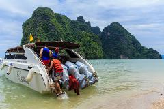 Phi Phi & Khai Nai Islands full day by Speedboat