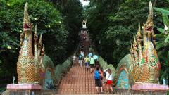 Wat Doi Suthep & Hmong Hill-Tribe Village - 13.30pm