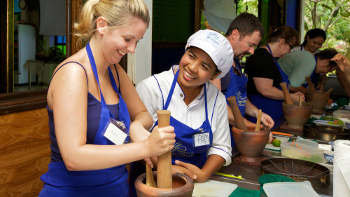 Phuket Thai Cookery School Session with Market Tour