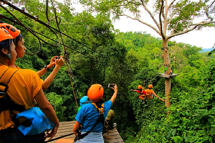 Flight of the Gibbon Chonburi, Zipline Adventure from Bangkok