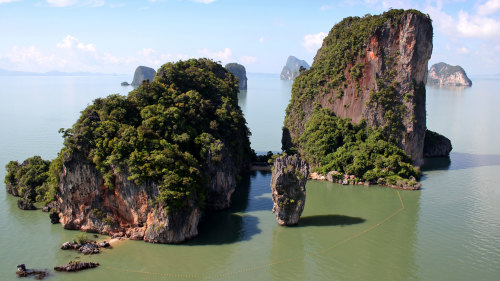 Phang Nga with Canoeing and Lunch by Speedboat