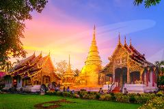 Phra Singh Temple, Warorot Market & Ping River Cruise - 14.00pm