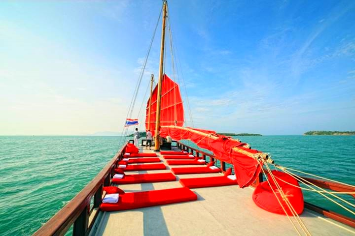 Red Baron Junk Sailing Tour with Transfers