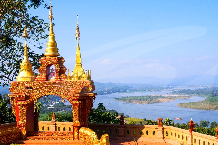 Golden Triangle, Ancient City & Temple Tour with Cruise - 13.30pm