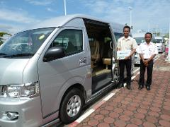 Phuket Minivan Rental with Driver and Guide - 8 Hrs