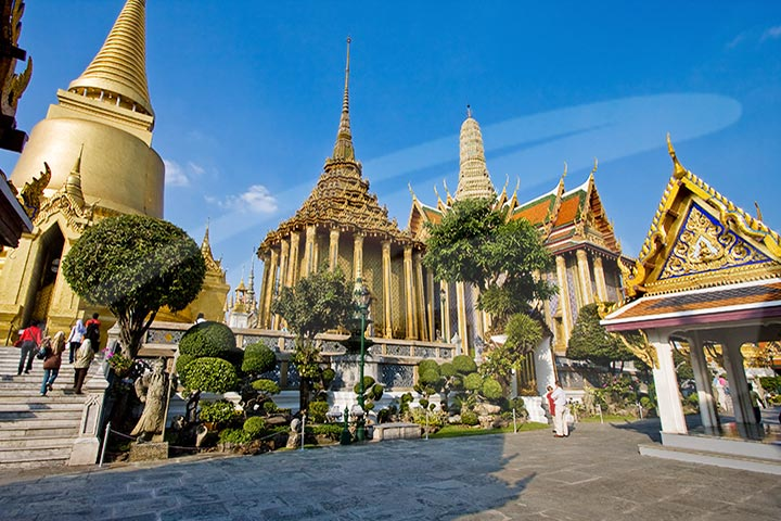 Golden Buddha, Reclining Buddha & Marble Temple Tour AM (Without Hotel Pickup)