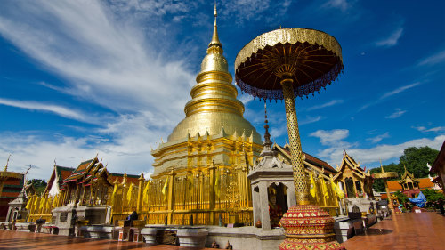 Ancient Lamphun & Hariphunchai Tour - 08.30am