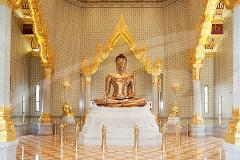 Golden Buddha, Reclining Buddha & Marble Temple Tour - PM