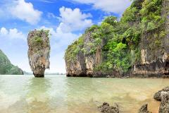 Full-Day Phang Nga Bay Canoe & Speedboat Tour with Lunch