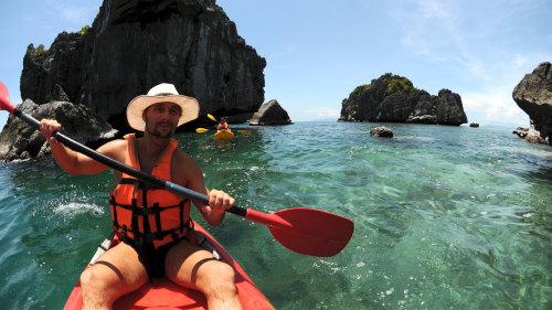 Sea Kayaking at Ang Thong Marine Park
