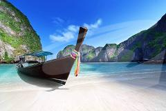 Phi Phi Late Rise by Speedboat