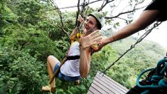 Flying Hanuman Ziplining Experience -  Course A (3pm)