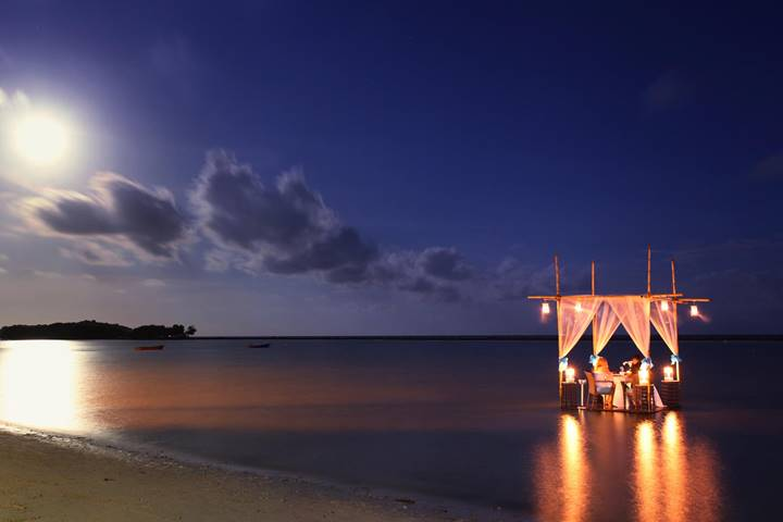 Romantic Dinner for 2 On the Beach - 7 Course - Regent Hotel Chaweng beach – 07.00pm