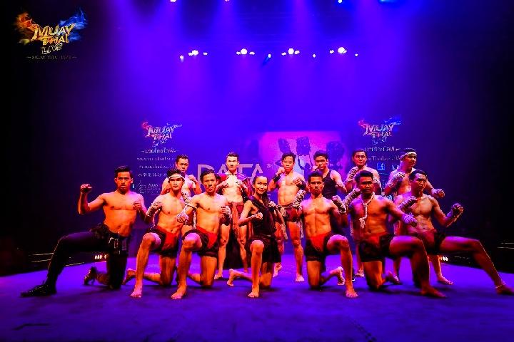 Muay Thai Live Performance at Asiatique - Premium Seat with Dinner