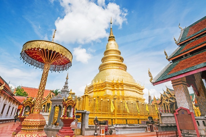 Ancient Lamphun & Hariphunchai Tour - 13.30pm