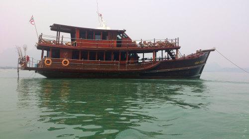 Khao Sam Roi Yot Sea Cruise