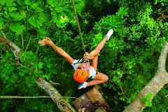 Flying Hanuman Ziplining Experience -  Course B (10am)