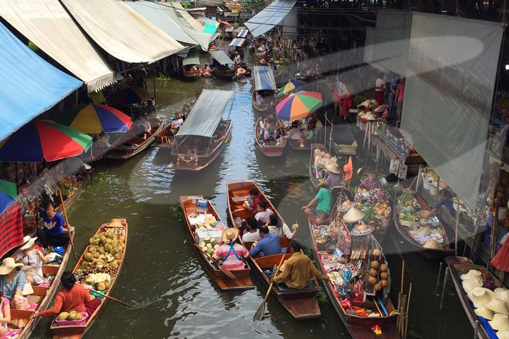 Floating Market and Woodland Museum