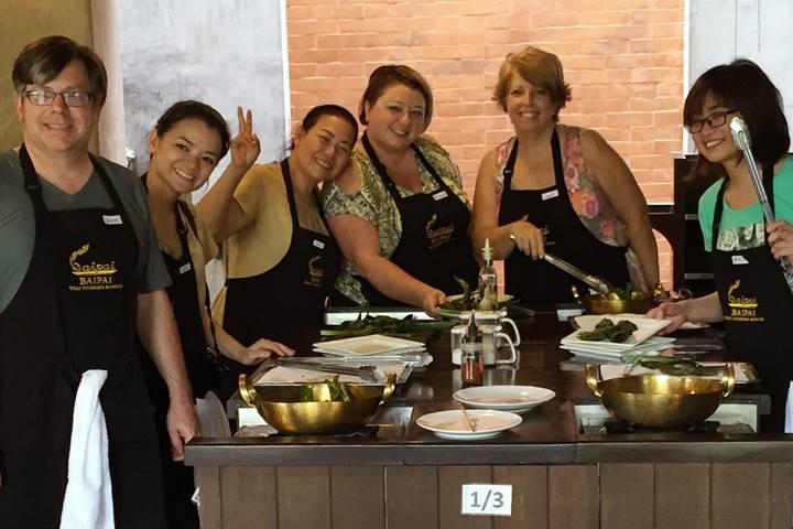 Thai Cooking Class Tour at Baipai Thai Cooking School