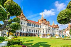 Grand Palace & Emerald Buddha Half-Day Temple Tour - PM
