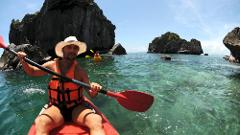 Sea Kayaking Angthong