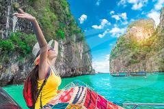 Phi Phi Islands by Ferry incl Snorkeling, Lunch & Transfers - Premium Seat