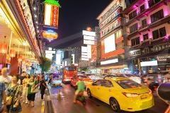 Private Chinatown, Flower Market & Khao San Road Night Tour with Dinner