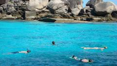 Full-Day Similan Islands Excursion by Speedboat