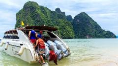 Half-Day Phi Phi Island Speedboat incl National Park Fees