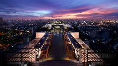 Vertigo and Moon Bar Rooftop Fine Dining Experience -  4 Course