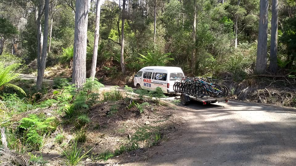 Derby to Black Stump Trail Head - Morning Session